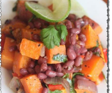 Sweet Potato Bean Salad